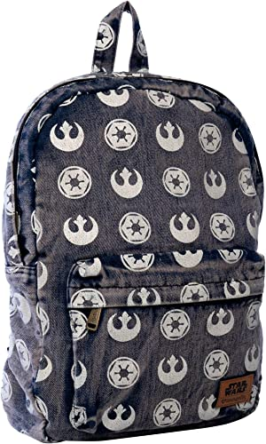 Loungefly Star Wars Rebel Empire Repeating Print Backpack Standard