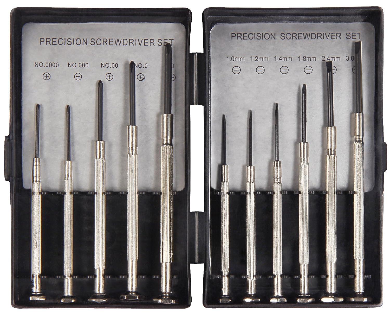 Fixapart Tools Uhrmacher Schraubendreher-Satz 11-teilig ASS-1101SUPER