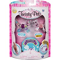 SpinMaster Twisty Petz Figuras Coleccionables Three, Unicorn/Cheetah/Trtl, Pack Number 6