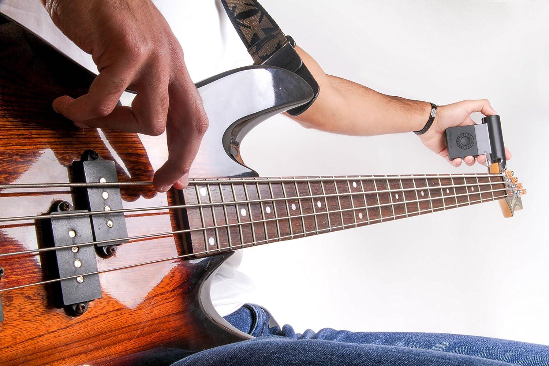 Roadie Bass - Afinador de guitarra independiente automático: Amazon.es: Instrumentos musicales