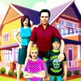 Virtual Family Simulator Game