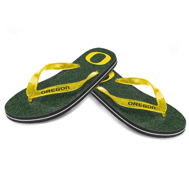 Oregon Womens Glitter Thong Flip Flop Small