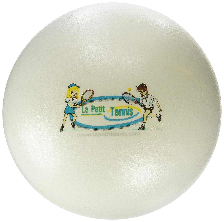 Banchisa di 10 palle pi/ù Pompa La mia Prima Palla di Tennis Gonfiabile Colore Bianco 20cm di Diametro