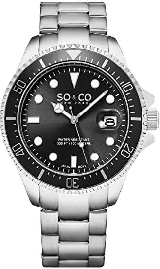 Reloj SO & CO New York - Hombre 5347.1