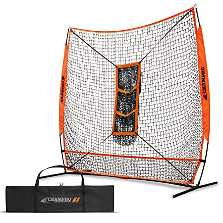 CHAMPRO MVP Baseball Softball Training Net, 5 x 5