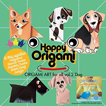 image relating to Free Printable Origami Paper titled Canines Entertaining Origami Paper Package for Young children: .united kingdom