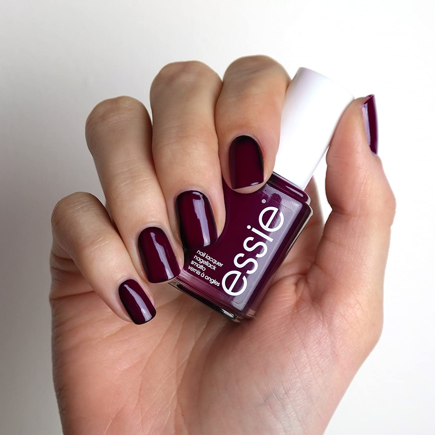 essie Original Nail Polish, Red and Burgundy Shades, 48 Luxedo 13.5 ...