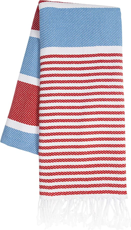Toalla de playa grande KZY London – 100% algodón turco hammam ...