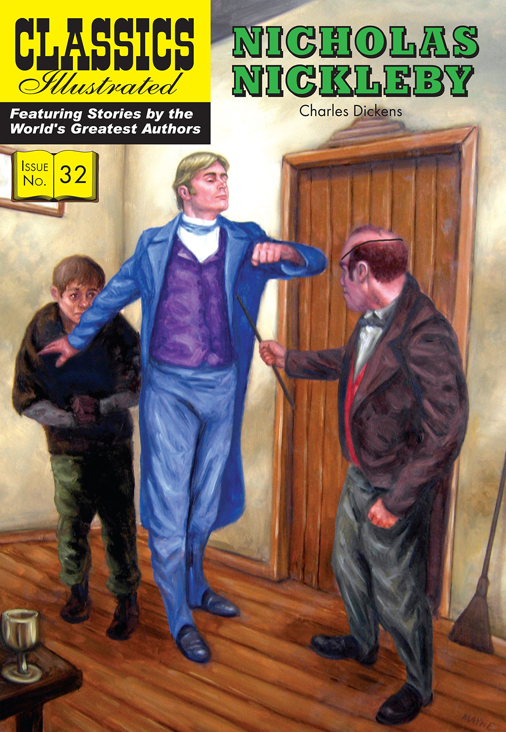 Read Online Nicholas Nickleby (Classics Illustrated) PDF