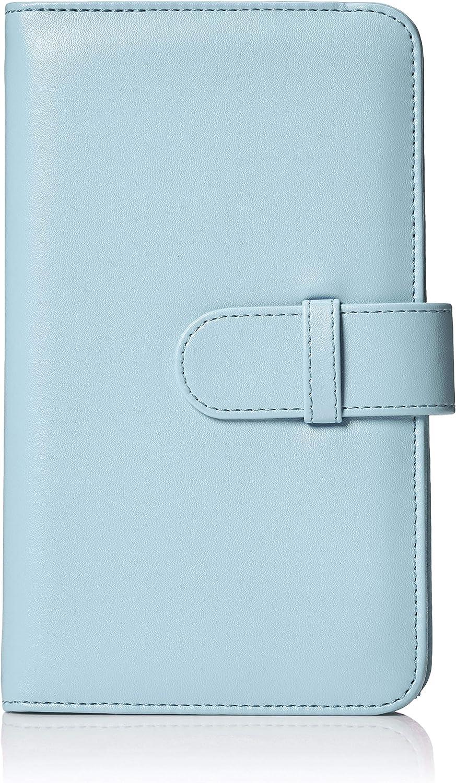 Basics Album style portefeuille pour 108 photos Instax Mini Bleu glace