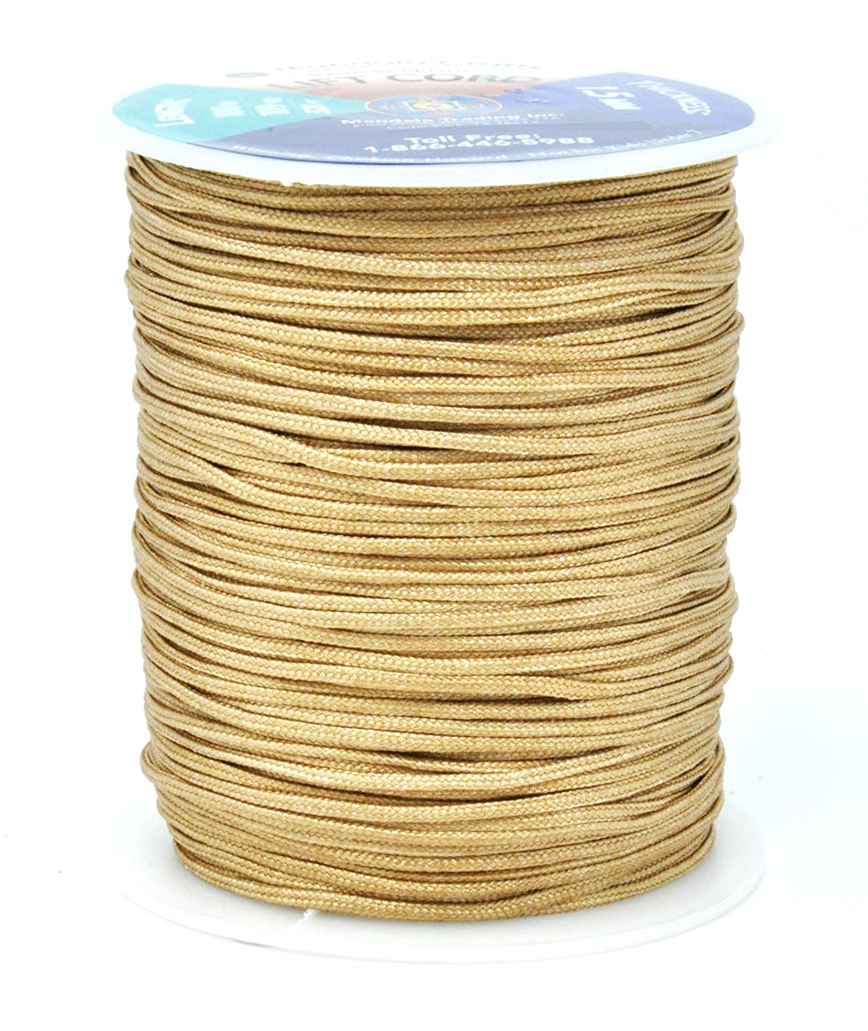 and Rollers Windows Lift Cord Replacement from Braided Nylon for RVs 2mm, Oak Shades Mandala Crafts Blinds String