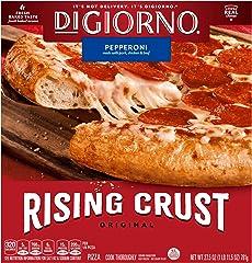 DIGIORNO Pepperoni Frozen Pizza with Rising Crust, 27.5 oz.