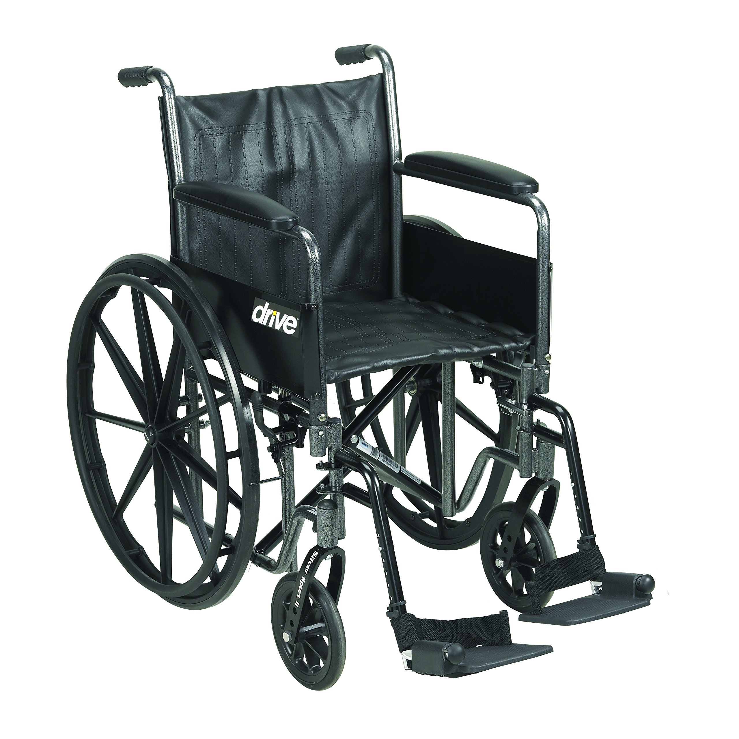 Drive Medical SSP216DFA-SF Silver Sport 2 Wheelchair