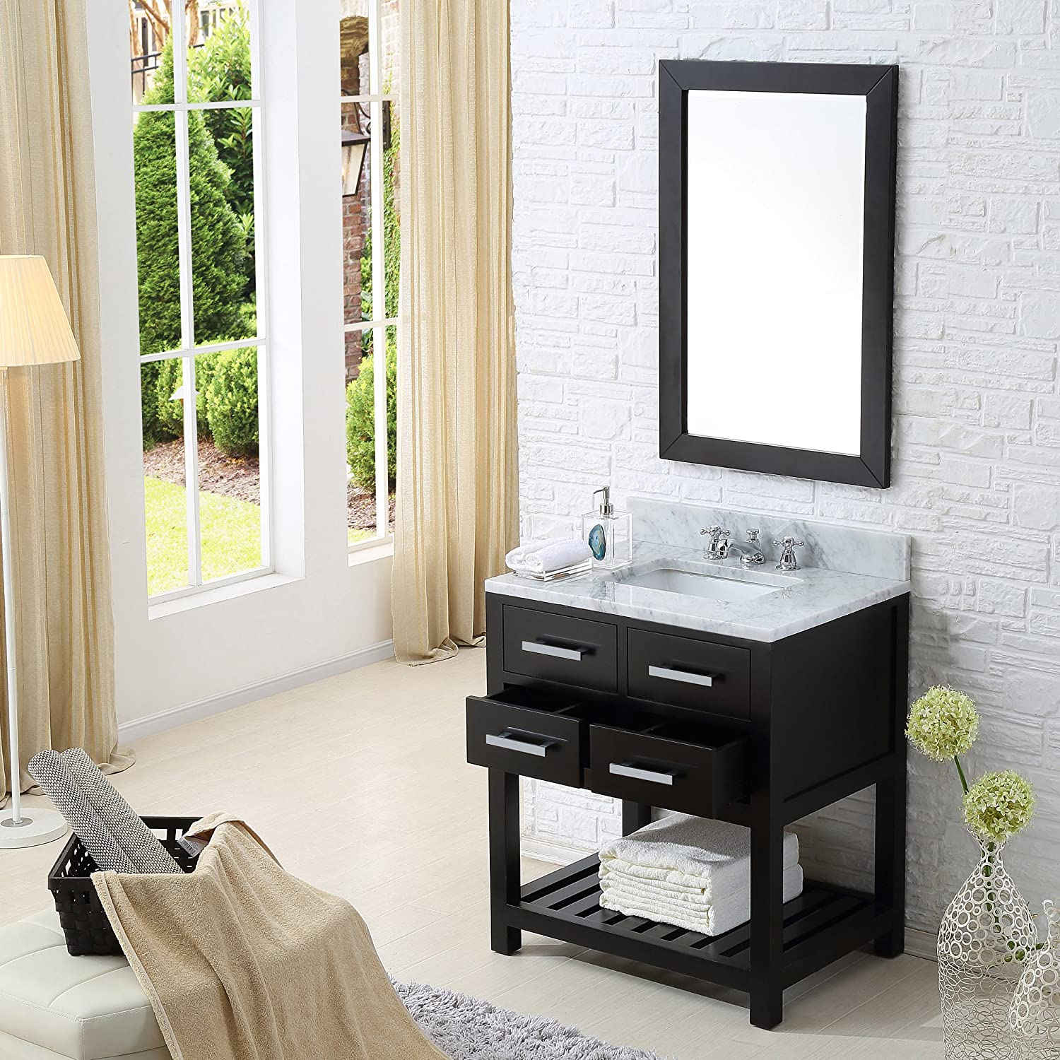 design products single elements paris bathroom espresso sink in vanities corbel vanity universe set