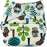 Bumberry Reusable Diaper Cover Without Insert - (Trees) (Multicolor)