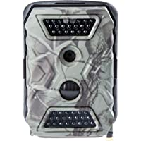 Ultrasport UmovE Secure Guard PRO, getarnte Wildkamera mit Bewegungsmelder, Überwachungskamera, für Fotofalle, Jagd & Wildbeobachtung, Spy Cam in Full-HD, inkl. Batterien & 16 GB SD Karte