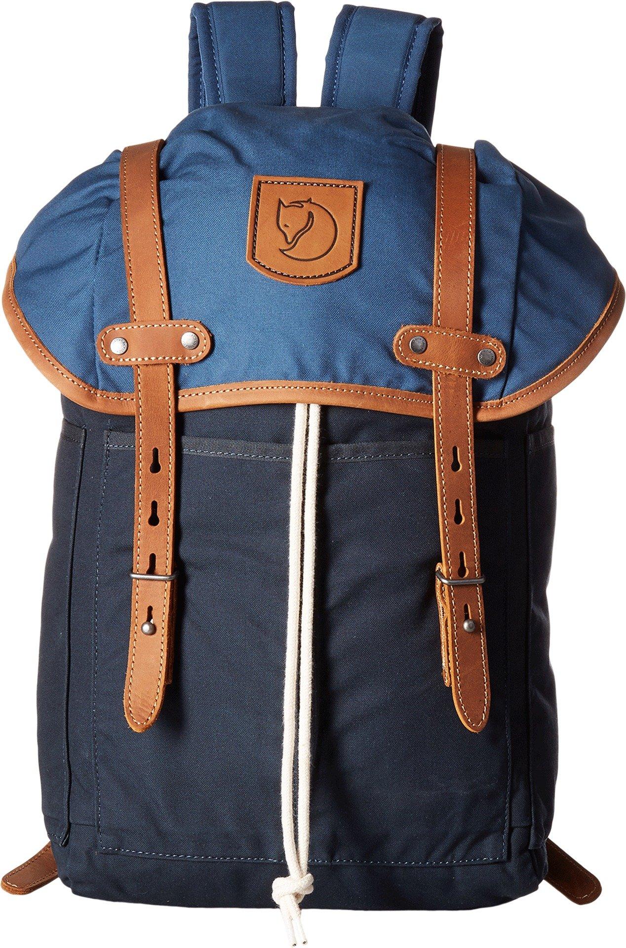 Fjällräven Unisex Rucksack No. 21 Small Dark Navy/Uncle Blue Backpack