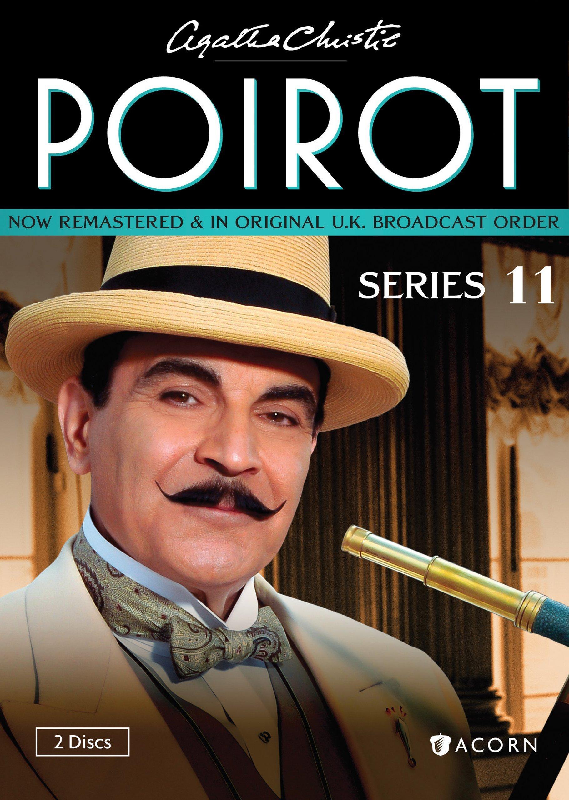 DVD : Agatha Christie's Poirot: Series 11 (2PC)