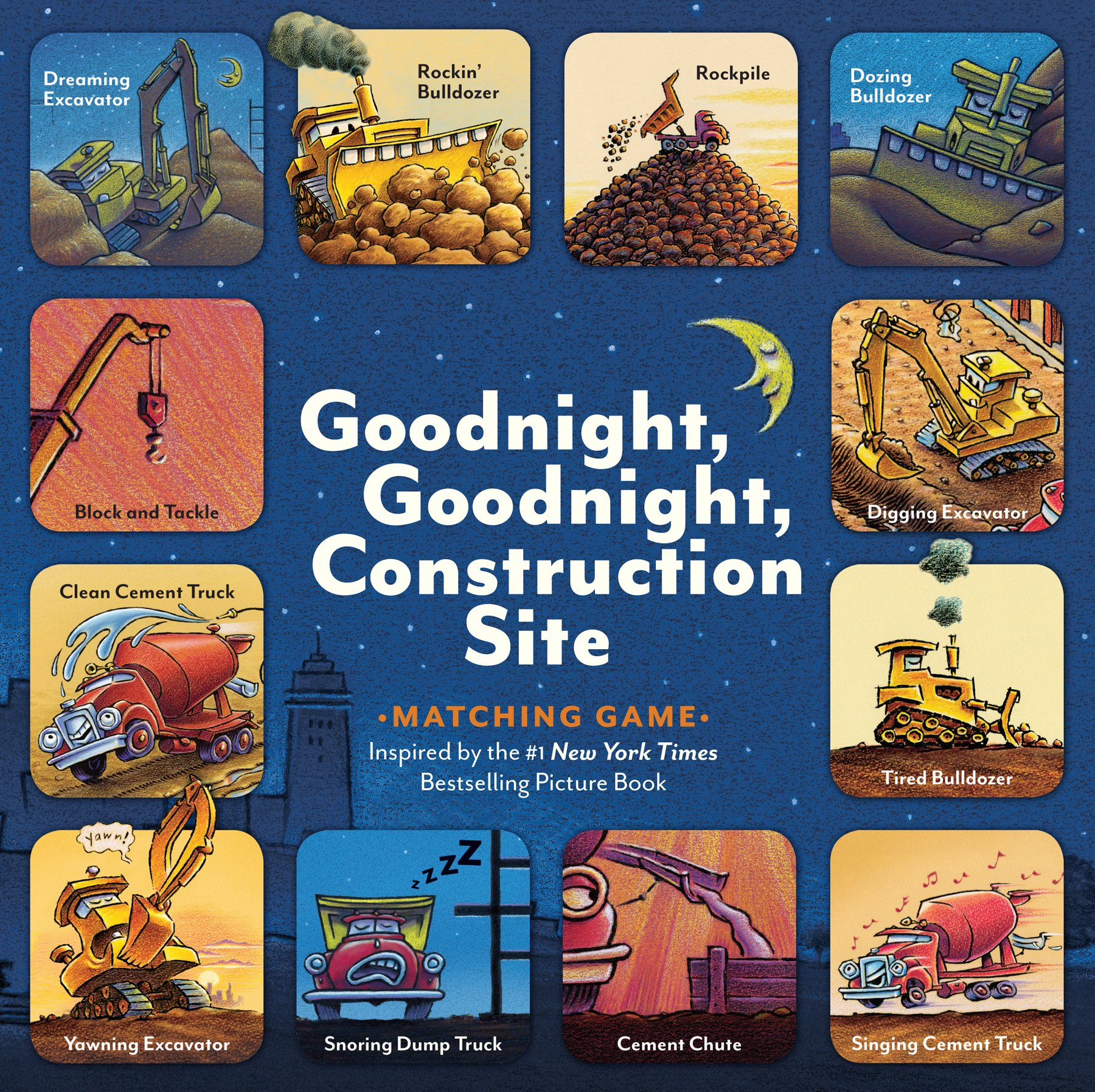 Goodnight, Goodnight, Construction Site Matching Game