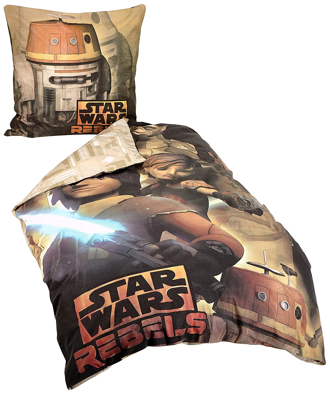 Herding 467266050412 Bettwäsche Star Wars Rebels 100 Baumwolle