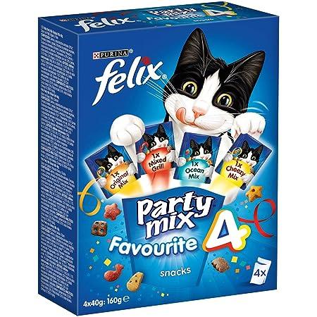 Felix Party Mix Mixed Grill 60 g - 60 gr: Amazon.es: Productos para mascotas