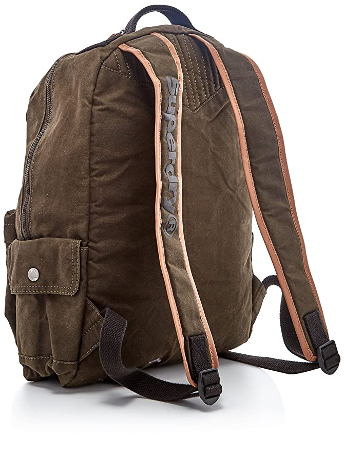 Superdry Men's OatmanBackpack Verde (Khaki/Tan) Discount Enjoy Free Shipping Wide Range Of Affordable Free Shipping Manchester ugqIzd5