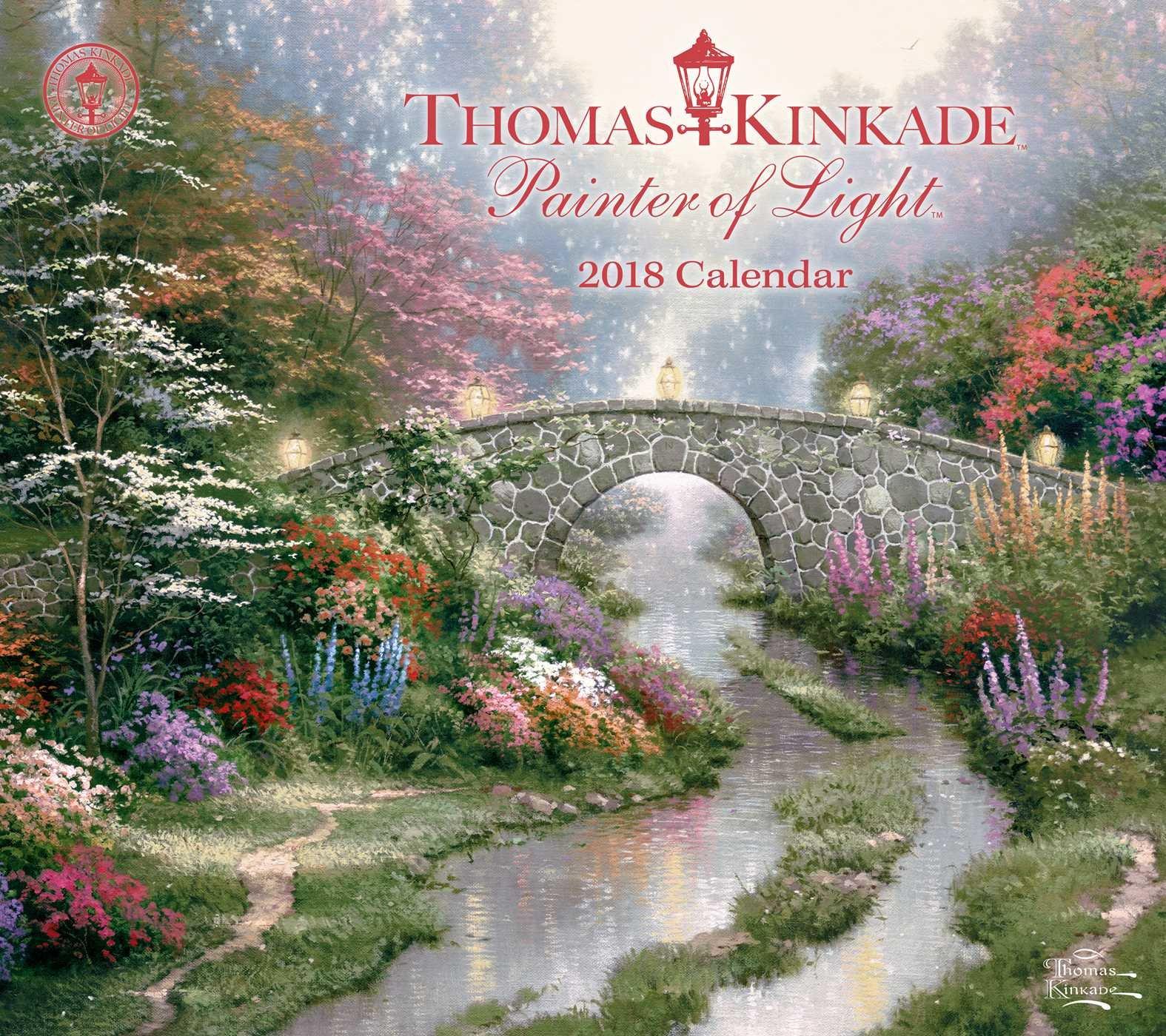 Thomas Kinkade Painter Deluxe Calendar