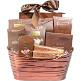 Godiva Chocolatier Gift Assortment in a Metal Reusable Basket - 2017 Chocolate Holiday Mix