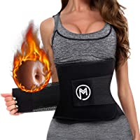 MERMAID'S MYSTERY Waist Trimmer Trainer Belt for Women Men Weight Loss Premium Neoprene...
