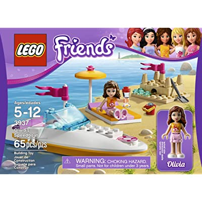 LEGO Friends 3937 Olivia's Speedboat: Toys & Games