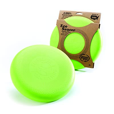 Green Toys EcoSaucer Flying Disc: Health & Personal Care