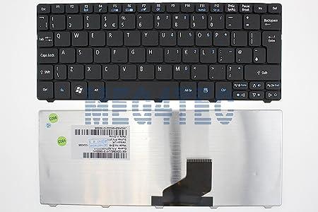 Tastatur für Acer Aspire One 521, 522, D255, D255E, D257, D260, D270, E100, UK-Layout F10