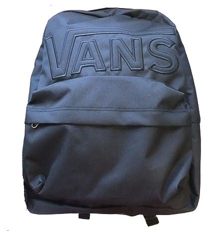 vans old skool black bag