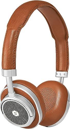 Master Dynamic MW50 Wireless Bluetooth Headphones – Premium Over-The-Ear Headphones – Noise Isolating – Studio Recording Quality Headphones