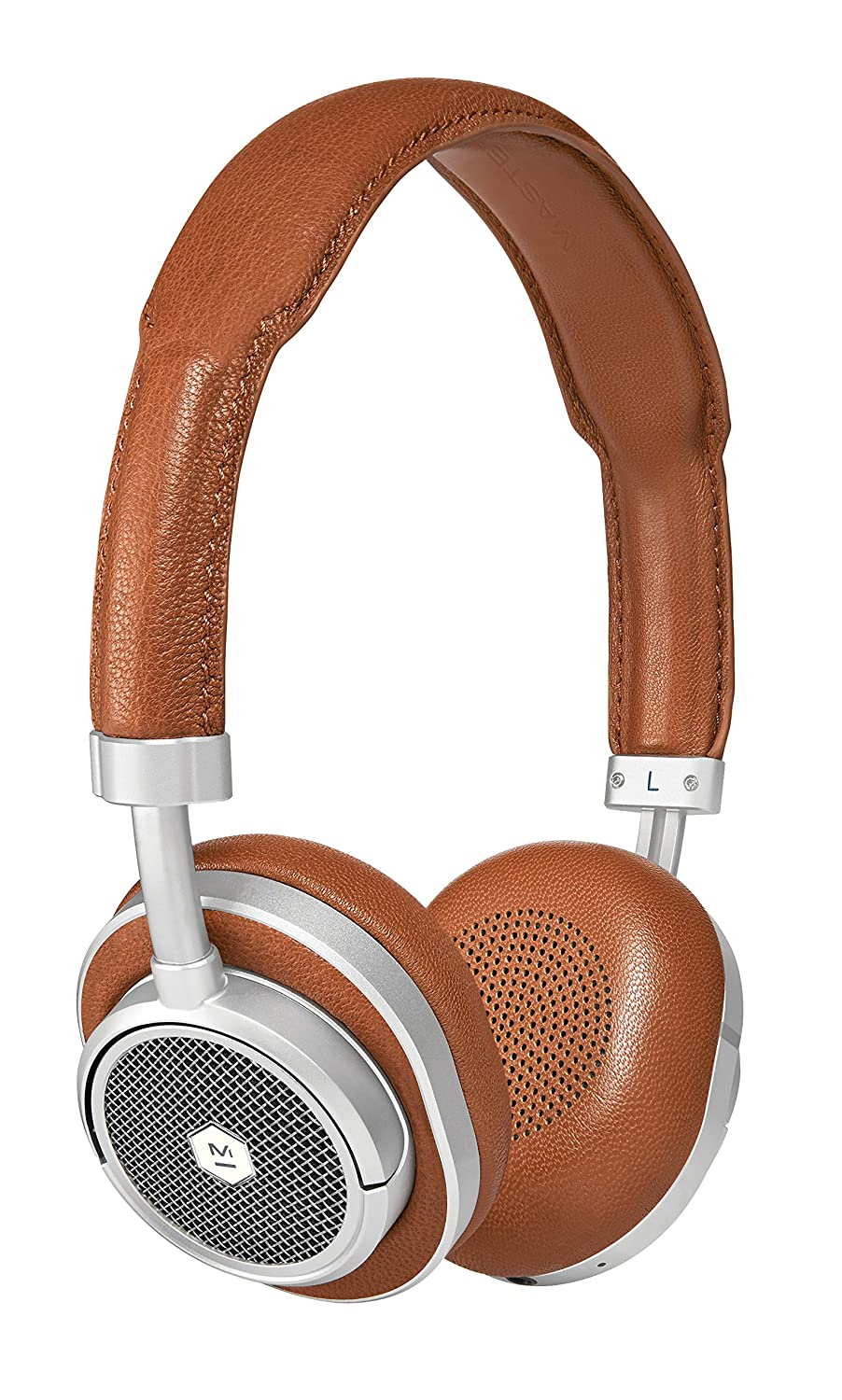 Master Dynamic MW50 Noise-Isolating Wireless Headphones Foldable, Over-Ear Headphones – Bluetooth Compatible with Mic
