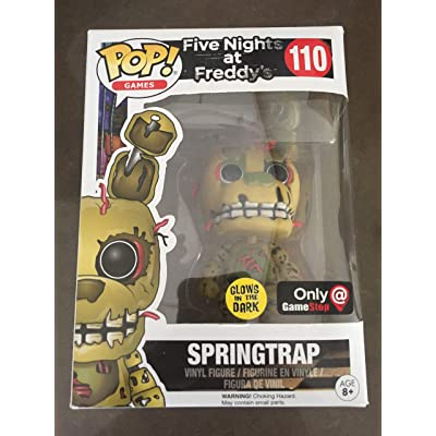 Funko POP! Five Nights at Freddys Glow Springtrap #110 Exclusive: Toys & Games