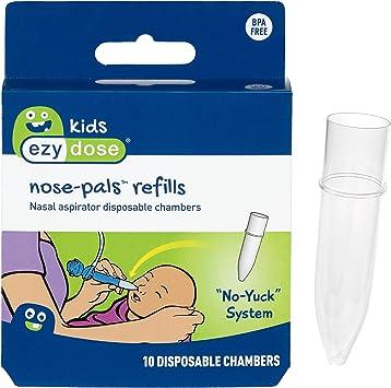 Ezy Dose Kids Nose-Pals 10 CT recambios para aspirador nasal ...