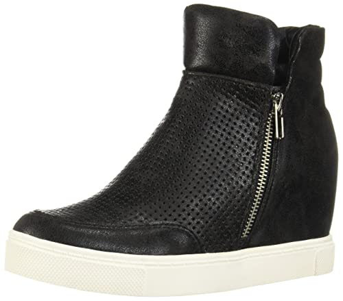771906e0e69 Steve Madden Linqsp Perforated Wedge Fashion Sneakers