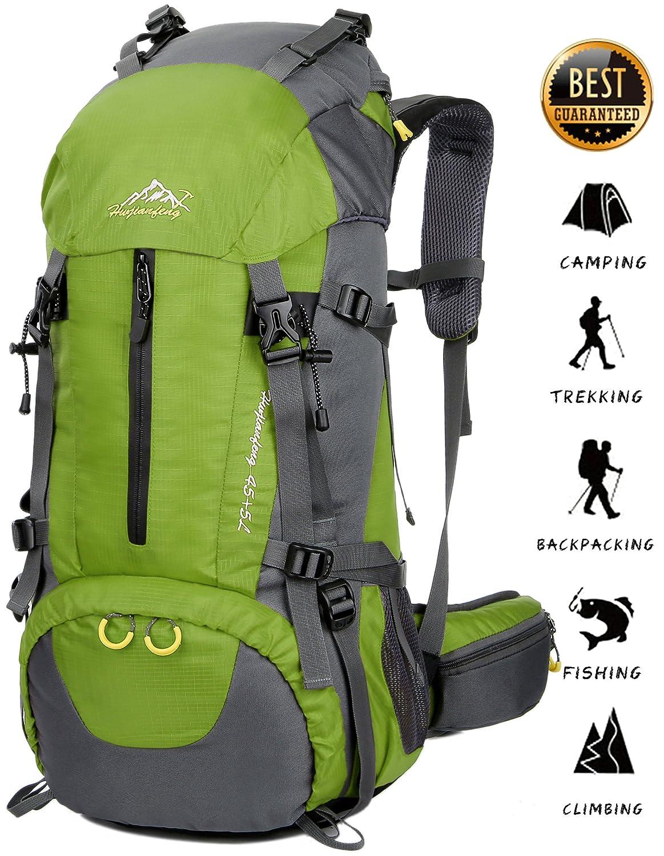 fa62ef63c7 BestWahl BestWahl BestWahl Uomo Donna ZAINO TREKKING Zaino Escursionismo  Zaino Daypack, verde, 50 l 580b28
