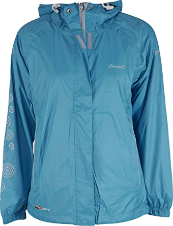 a440afca495f Campus Vanessa Womens Waterproof Jacket - Turquoise  Amazon.co.uk ...