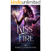 Kiss Of Fire (Imdalind Series Book 1) book cover