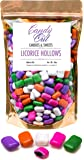 CandyOut Hollows Licorice Candy 2 Pounds in Sealed Reusable CandyOut Stand up Bag