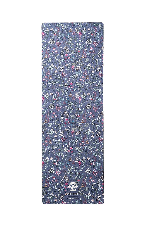 Harvey /& Mills Azul Esterilla de Yoga para Yoga y Viajes con Toalla de Microfibra Mujer Caucho Natural Respetuoso con el Medio Ambiente Yogi Bare Teddy