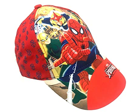 bbdede881126 Boys Kids Official Various Superhero Character Spiderman Power Ranger  Baseball Caps Summer Hat Size 52cms (Age 2-4) 54cms (Age 4-8)