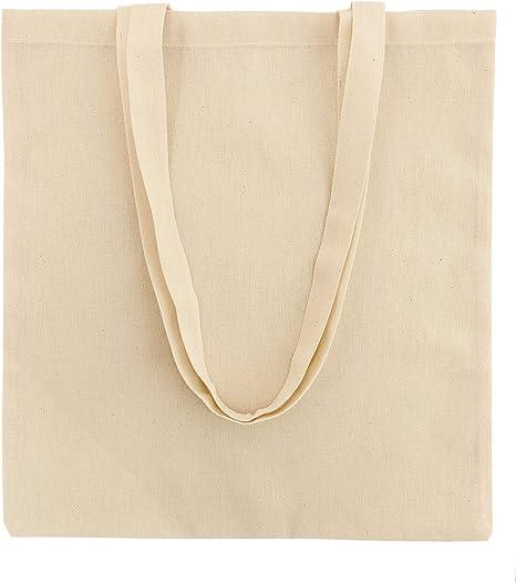 POLHIM Bolsa de algodón, Bolsa de Yute, 120 g, tamaño 38 x 42 cm ...