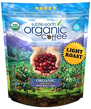 Cafe Don Pablo 2LB Subtle Earth Organic Light-Roast Arabica Coffee Beans