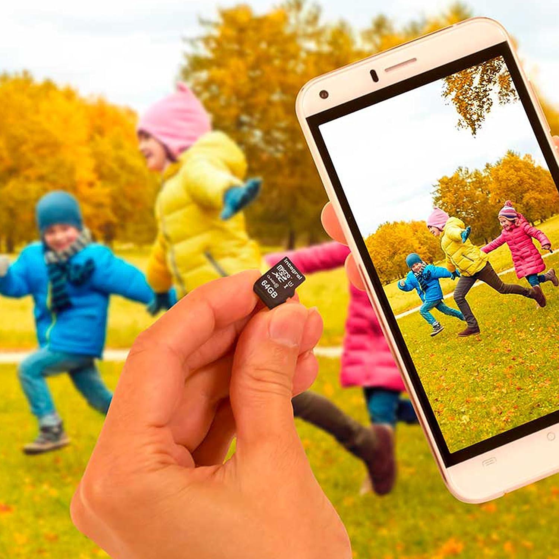 U1 Micro SD XC 256Go Pour Smartphones /& Tablettes compatibles Adaptateur SD UHS-I Carte M/émoire Haute Vitesse jusqu/à 90MB//s Classe 10 Integral