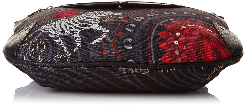 c975b60920c4c Desigual Brooklyn Red Balls, Sac bandoulière - Rouge (Carmin), Taille  Unique: Amazon.fr: Chaussures et Sacs