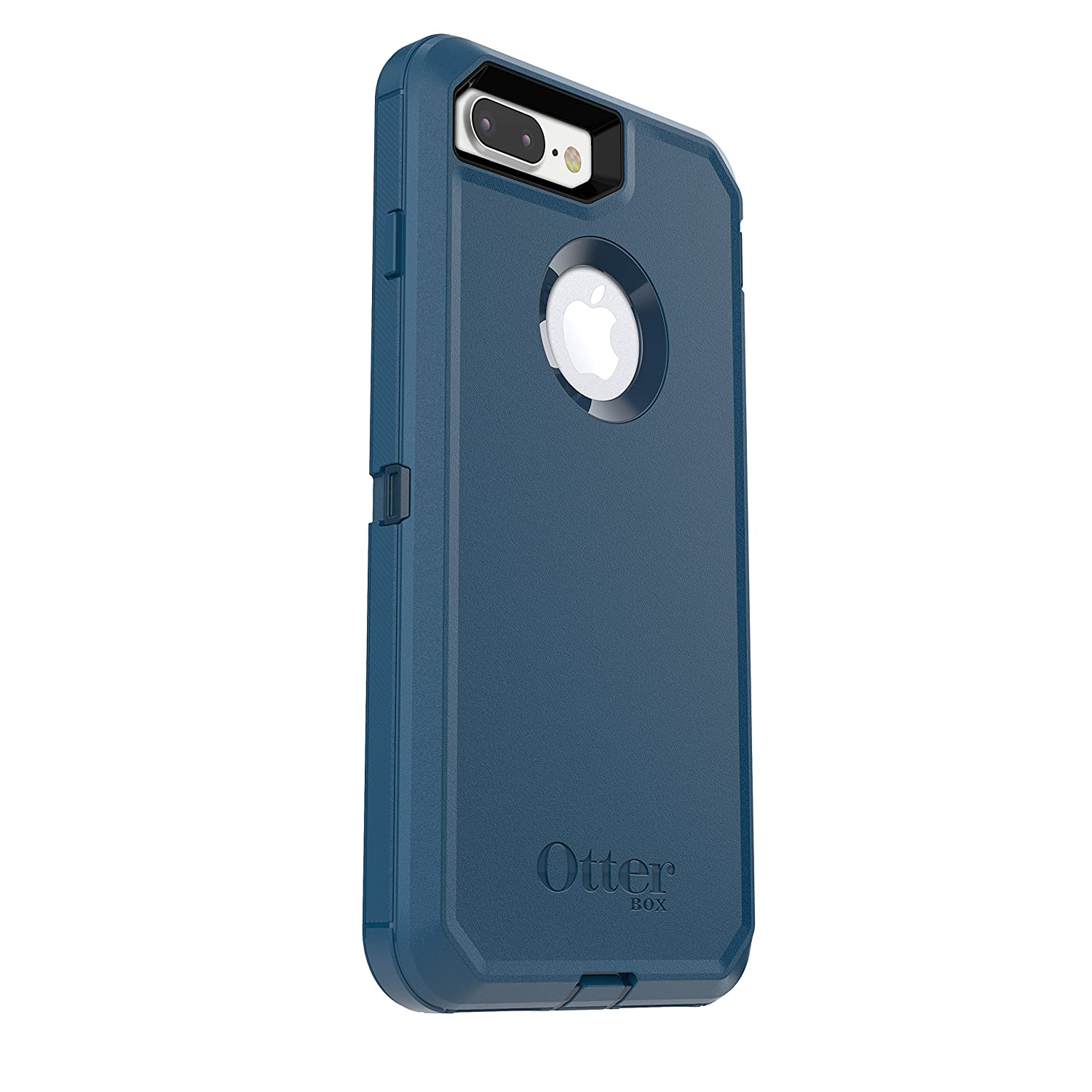 Amazon.com  OtterBox DEFENDER SERIES Case for iPhone 8 Plus   iPhone 7 Plus  (ONLY) - Retail Packaging - BESPOKE WAY (BLAZER BLUE STORMY SEAS BLUE)   Cell ... 622c42f9e89c