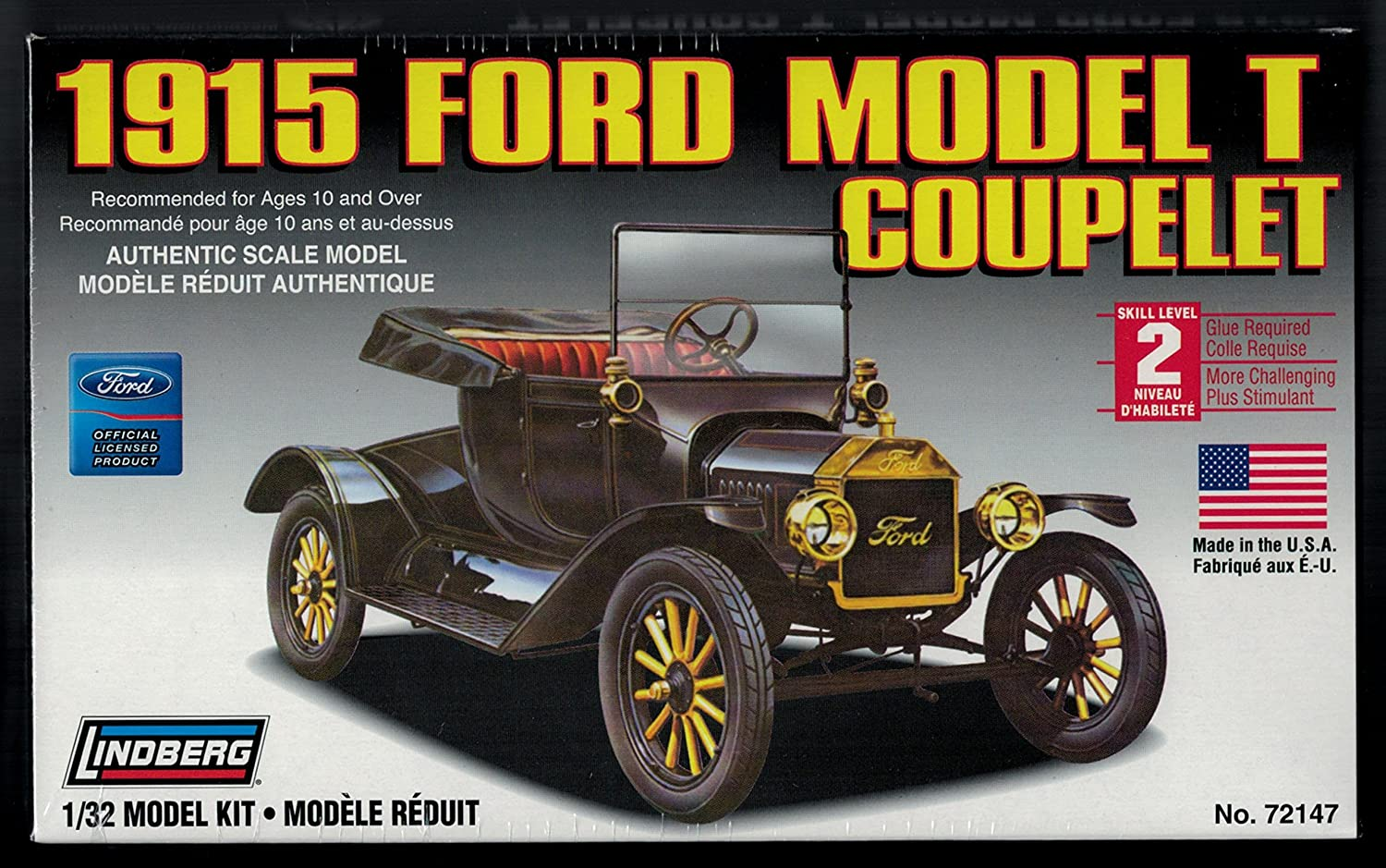 & Amazon.com: 1915 FORD MODEL T COUPELET: Arts Crafts u0026 Sewing markmcfarlin.com